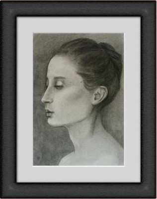 profile study framed